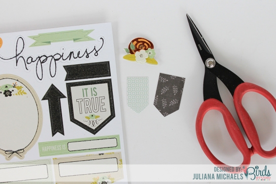 Creating Your Own Layered Embellishment Tutorial by Juliana Michaels for 3 Birds Studio 01