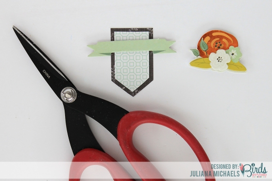 Creating Your Own Layered Embellishment Tutorial by Juliana Michaels for 3 Birds Studio 03