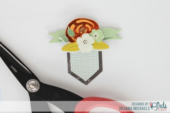 Creating Your Own Layered Embellishment Tutorial by Juliana Michaels for 3 Birds Studio 04
