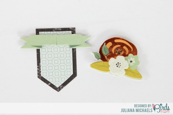 Creating Your Own Layered Embellishment Tutorial by Juliana Michaels for 3 Birds Studio 06
