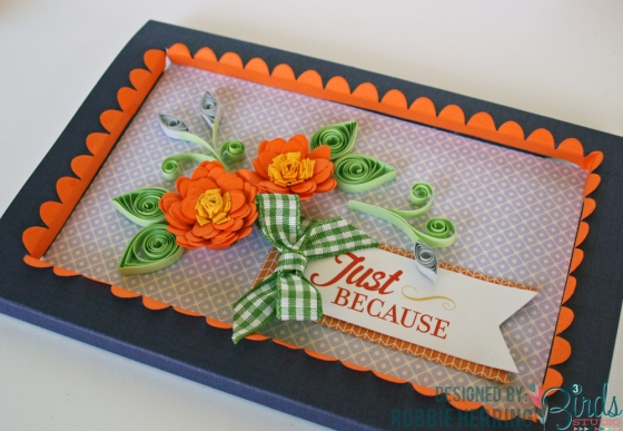 Just Because Card by Robbie Herring for 3 Birds Studio using Graceful Season