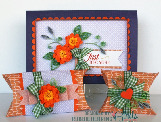 Just Because Card Set by Robbie Herring for 3 Birds Studio using Graceful Season