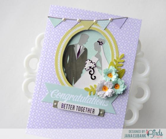 Wedding Card by Jana Eubank for 3 Birds Studio 02