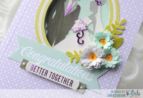 Wedding Card by Jana Eubank for 3 Birds Studio 04