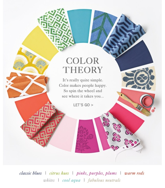 Selena and Lily Color Theory Image used as Inspiration for scrapbook page