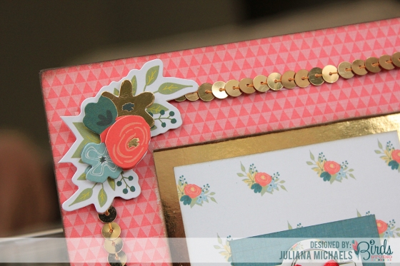 Our Story Altered Frame by Juliana Michaels for 3 Birds Studio using Graceful Season Collection available on HSN.com