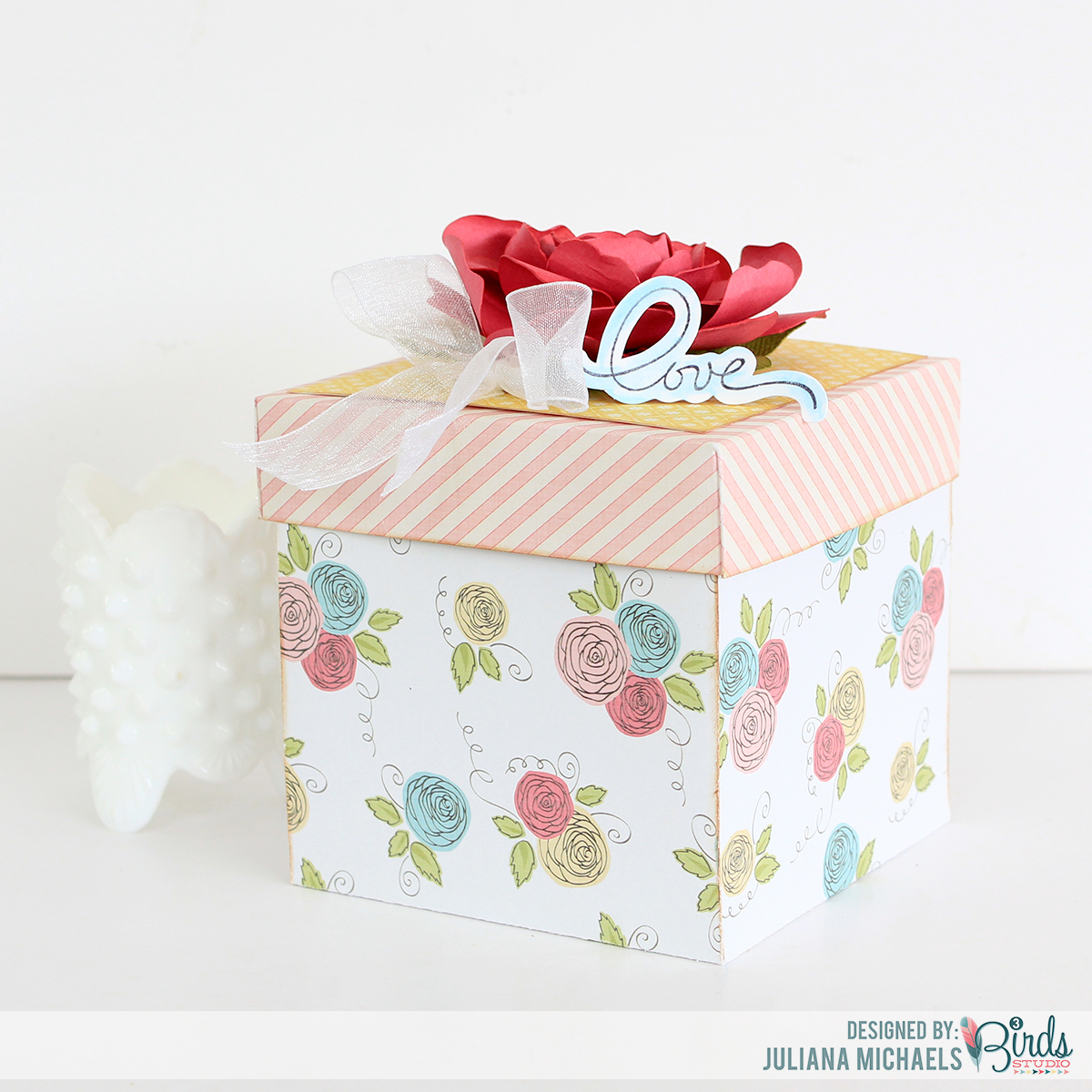 Wedding Gift Boxes Michaels : Gift Box 3Birds Design Straight from the Nest