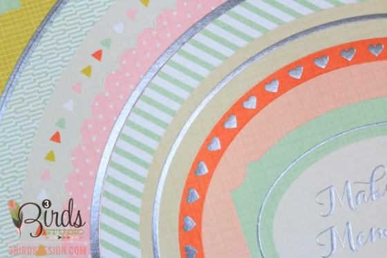 3 Birds Design Midday Medley Nestable Festival Sticker Pad HSN.com 3birdsdesign.com