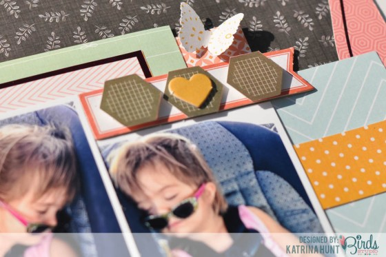 Picture Perfect Dream Scrapbook Page by Katrina Hunt for 3 Birds Studio #3birdsdesign #middaymedley #gracefulseason #scrapbookpage