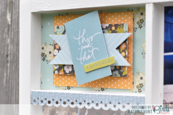 This And That Altered Tray by Katrina Hunt for 3 Birds Design #3birdsdesign #alteredtray #home decor #middaymedley