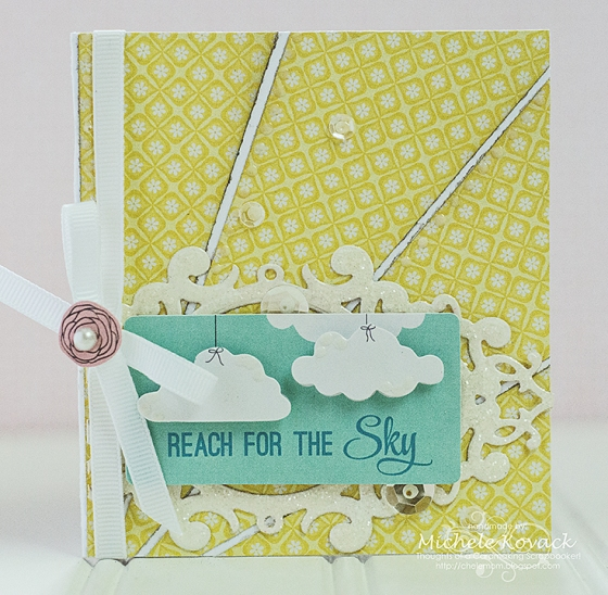 Reach For The Sky Card by Michele Kovack Guest Designing for 3 Birds Design #middaymedley #3birdsdesign #card