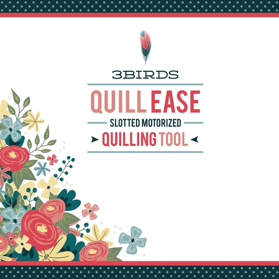3 Birds Design Quill Ease Quilling Tool #3birdsdesign #quillease #quilling