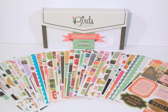 3 Birds Design Sticker Flair Kit #3birdsdesign #stickers