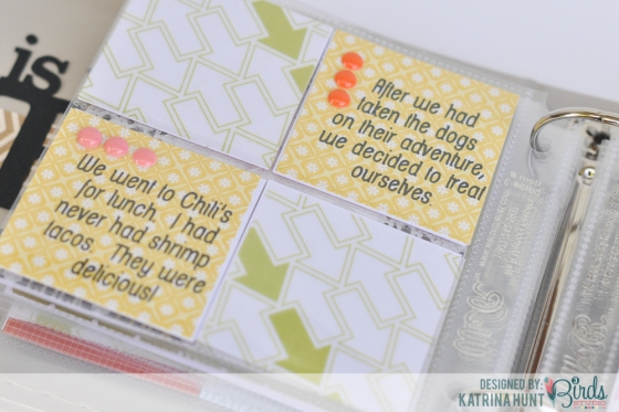 iPhone Moments Mini Album by Katrina Hunt for 3 BIrds Design