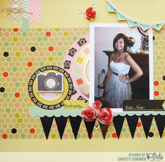 Using Xyron Creative Station with Vellum 3 Birds Design by Chasity Sivanick