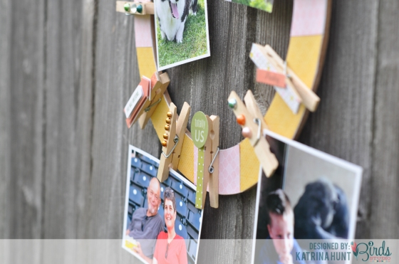Photo Wreath Katrina Hunt for 3 Birds Design