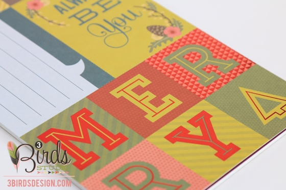 For All Seasons Themed Card by 3 Birds Design