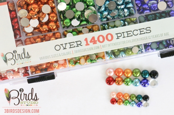 Pearlescent & Foil Goodie Box by 3 Birds Design