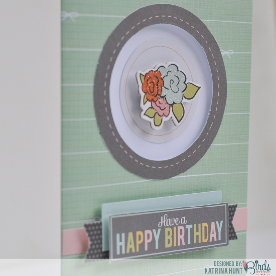 Quick and Simple Card Set by Katrina Hunt for 3 Birds Design using Graceful Season