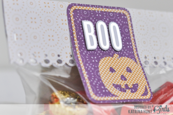 Halloween Treat Card Set by Katrina Hunt for 3 Birds Design