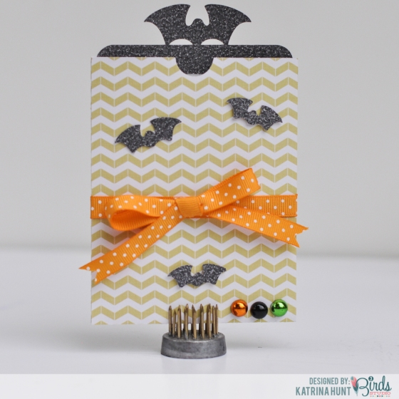 Halloween Treat Card Set by Katrina Hunt for 3 Birds Design