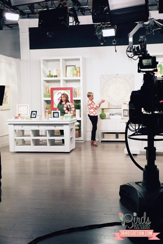 October HSN Show #behindthescenes #3birdsdesign #stagecrew