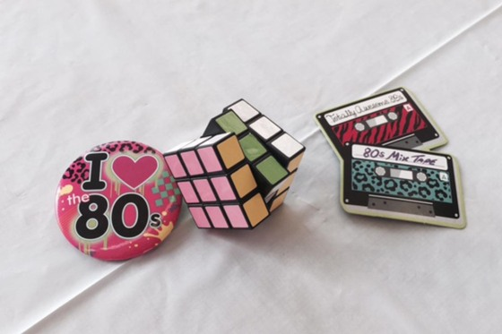 3Birds Halloween Party at the Nest #2014 #3birdsknowshowtoparty #totally80shalloween #rubikscube