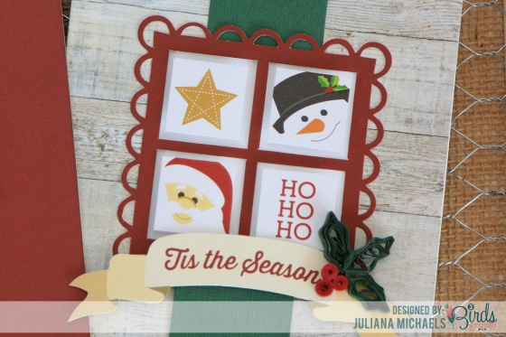 Christmas Card Ideas by Juliana Michaels featuring theHoliday Season Quilled Cardmaking Kit by 3 Birds Design