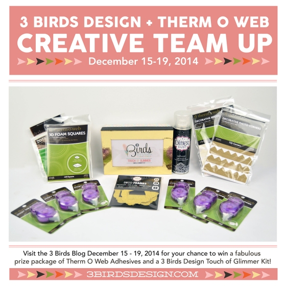 3 Birds Design & Therm O Web Team Up