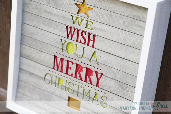 Christmas Decor by Mary Ann Jenkins featuring 3 Birds Design and Therm O Web
